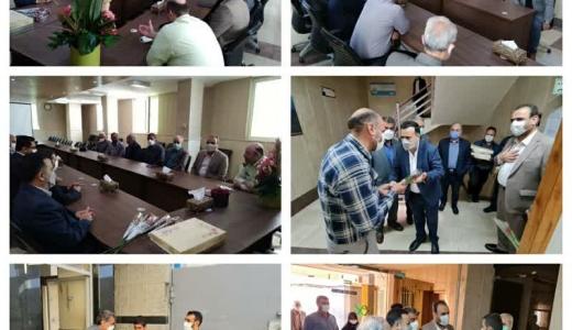 دیدار با رئیس و پرسنل پلیس اطلاعات و اماکن عمومی استان به مناسبت هفته ناجا