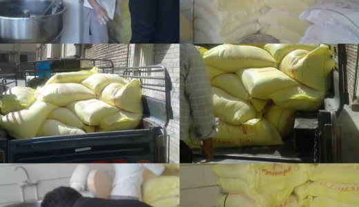 گشت مشترک و بازرسی از واحدهای صنفی نانوایی در شهرستان خمینی شهر