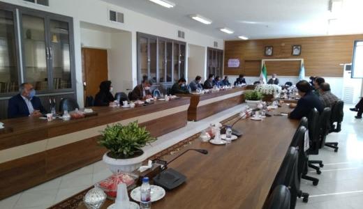 جلسه ستاد تنظیم بازار شهرستان شاهین شهر و میمه