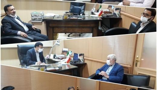 حضور رؤسای اتحادیه های صنفی اصفهان