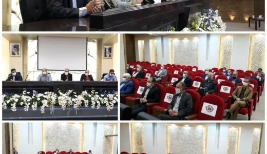 برگزاری جلسه توجیهی با تعدادی از رؤسای اتحادیه های صنفی اصفهان