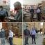 رصد و پایش پروتکل های بهداشتی در بخش سده از توابع شهرستان لنجان