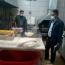گشت مشترک و بازرسی از واحدهای صنفی عرضه کننده مرغ، ماهی و نانوایی در بخشهای زرین شهر
