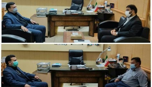 حضور روسای اتحادیههای صنفی در دفتر مدیر بازرسی و نظارت اصناف استان